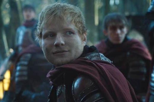 Ed Sheeran khoe giong hat cuu ca tap dau 'Game of Thrones' mua 7 hinh anh