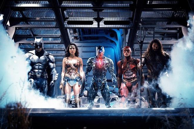 Dan sieu anh hung Justice League cua DC chinh thuc hinh thanh hinh anh 1