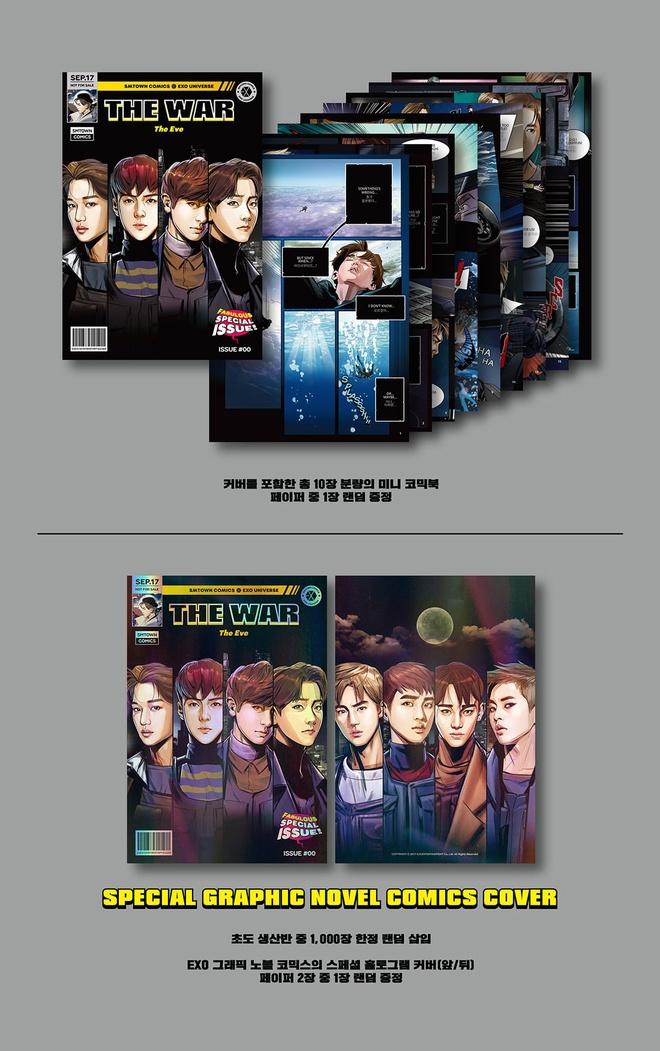 EXO tiet lo bia album 'Marvel hoa' cho lan tro lai sap toi hinh anh 1