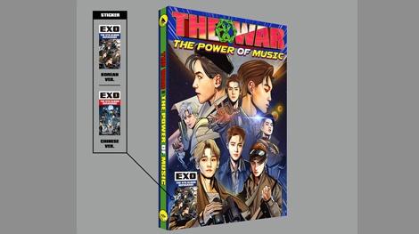 EXO tiet lo bia album 'Marvel hoa' cho lan tro lai sap toi hinh anh