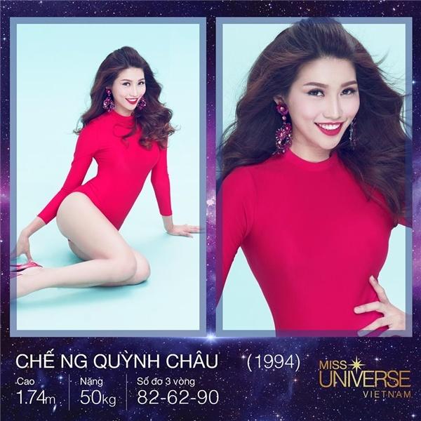 Quynh Chau: 'Hoang Thuy, Mau Thuy la doi thu manh nhat o HHHV' hinh anh 1