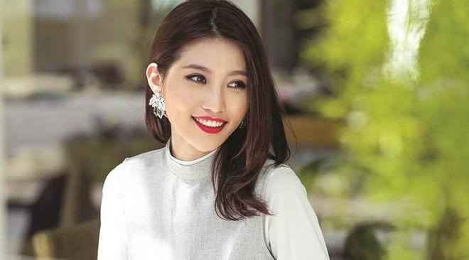 Quynh Chau: 'Hoang Thuy, Mau Thuy la doi thu manh nhat o HHHV' hinh anh