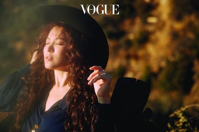 Song Hye Kyo dinh nghia ve hanh phuc va ke hoach cho tuan trang mat hinh anh 1