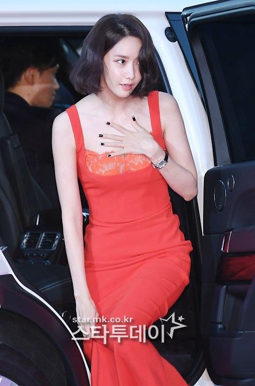 Dan my nhan dien anh Han khoe sac tai tham do The Seoul Awards anh 2