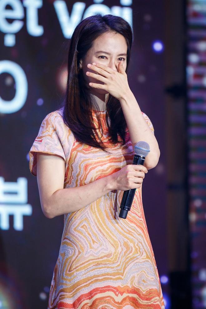 Song Ji Hyo va iKon xuat hien rang ro tai Viet Nam hinh anh 4