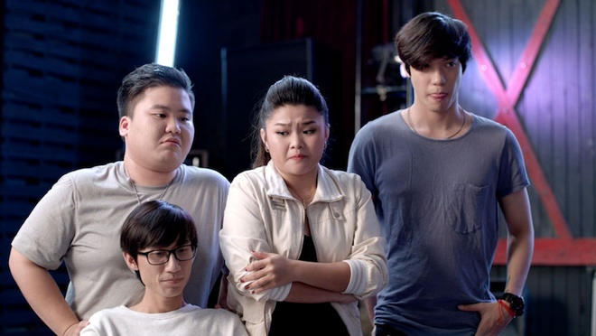 Tap 12 'Glee': Hoang Minh phat hien vo chua cuoi gia mang bau hinh anh 1