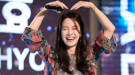Khoanh khac than thien cua Song Ji Hyo voi fan Viet hinh anh