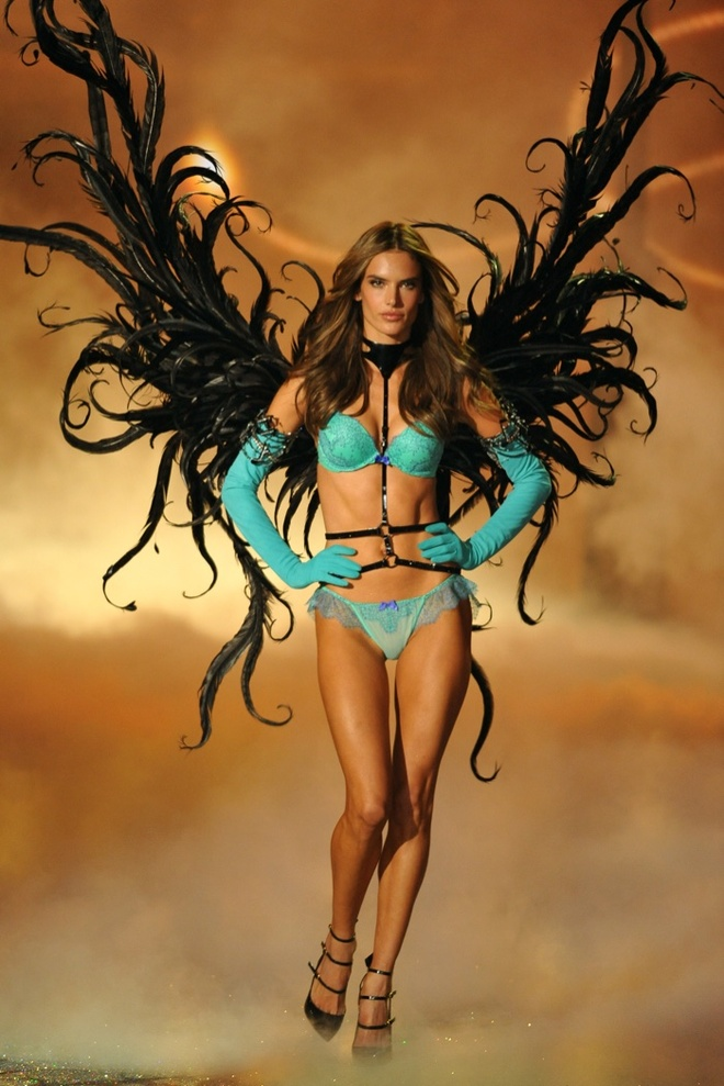 Chang duong 17 nam cung Victoria's Secret cua Alessandra Ambrosio hinh anh 12