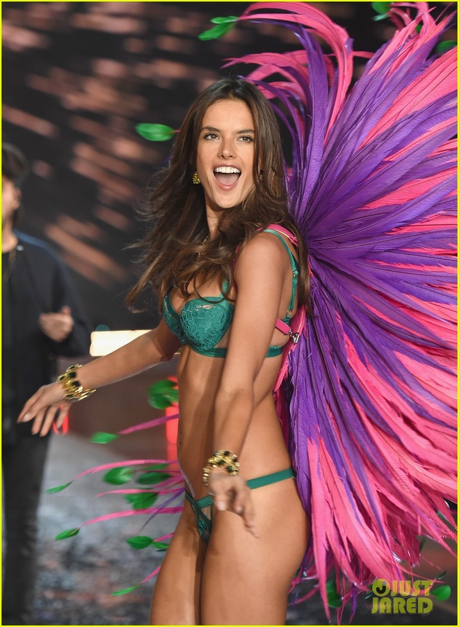 Chang duong 17 nam cung Victoria's Secret cua Alessandra Ambrosio hinh anh 14