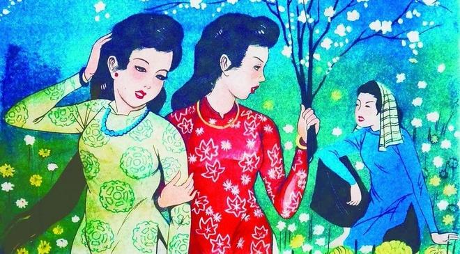 Bao Xuan Sai Gon xua: Giai pham va giai nhan hinh anh