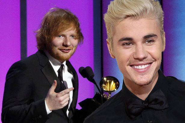 Ed Sheeran: Trai xau muon soan ngoi 'hoang tu pop' cua Justin Bieber? hinh anh