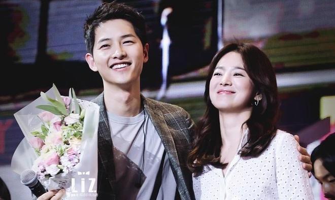 Song Joong Ki va Song Hye Kyo ly hon anh 1
