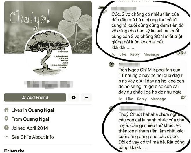 Tài khoản mạng xã hội đã dùng lời lẽ xúc phạm, miệt thị Hari Won.