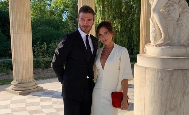Vo chong David Beckham lang man trong dip ky niem 20 nam ngay cuoi hinh anh 1