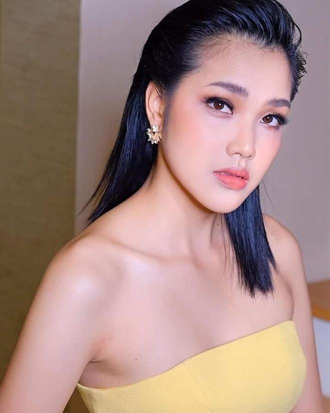 Nhan sac 9X Thai Lan la doi thu cua Luong Thuy Linh o Miss World 2019 hinh anh 5