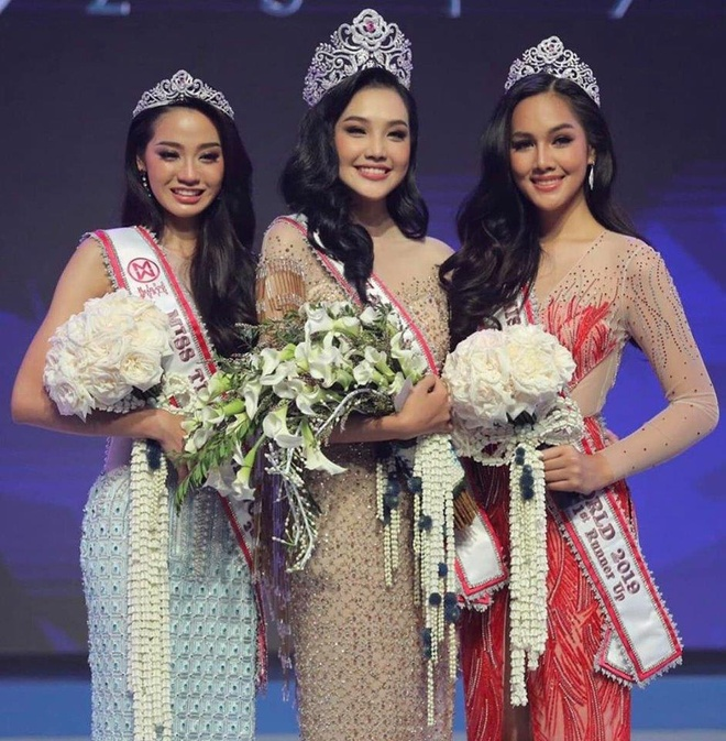 Nhan sac 9X Thai Lan la doi thu cua Luong Thuy Linh o Miss World 2019 hinh anh 2