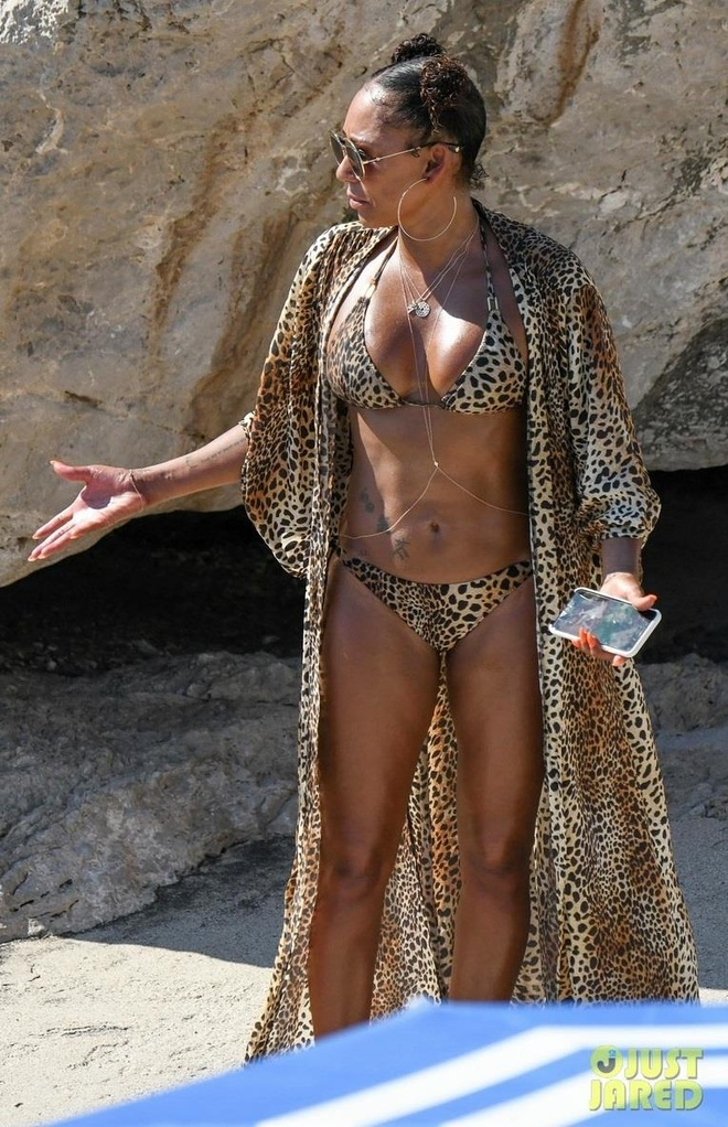 Mel B mặc bikini dự lễ cưới siêu mẫu Heidi Klum