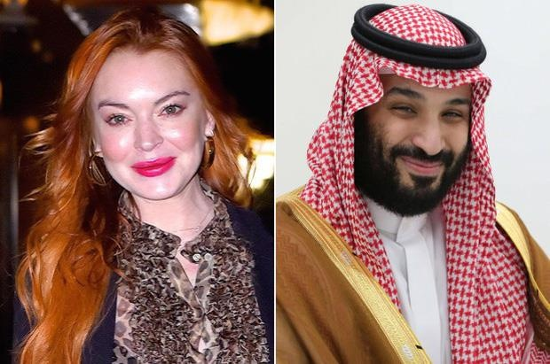 Lindsay Lohan phủ nhận tin đồn hẹn hò thái tử Ả Rập