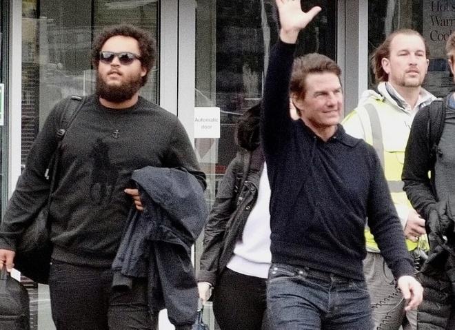 con trai Tom Cruise xuat hien truoc cong chung anh 2