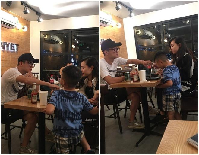 Chi Nhan than thiet ben ban gai la, nghi van chia tay Minh Ha hinh anh 1