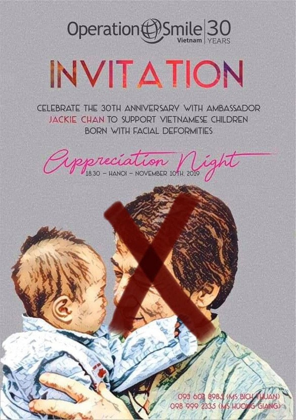 operation smile len tieng anh 1