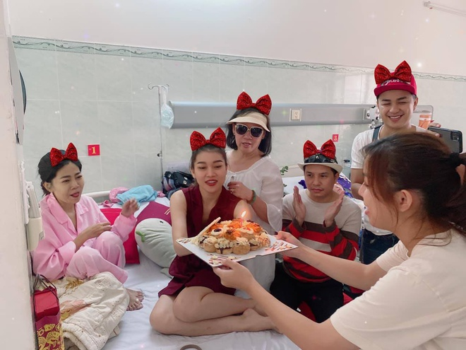 Dien vien Mai Phuong don sinh nhat trong benh vien hinh anh 1 mp.jpg