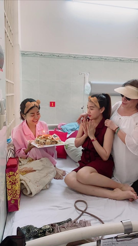 Dien vien Mai Phuong don sinh nhat trong benh vien hinh anh 2 mp2.jpg