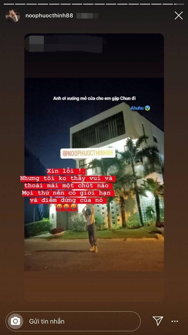 Noo Phước Thịnh bức xúc khi bị chụp hình nhà riêng lúc nửa đêm