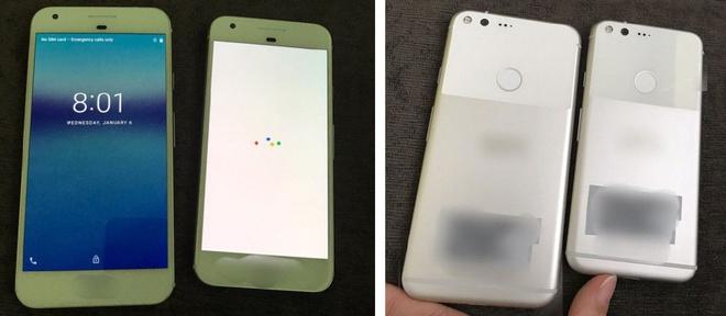 Dien thoai Pixel sap ra mat cua Google giong iPhone 7 hinh anh 1