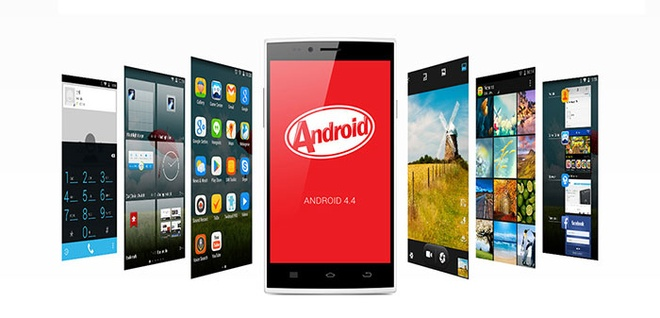 Evo X5 gia re chay Android KitKat hinh anh
