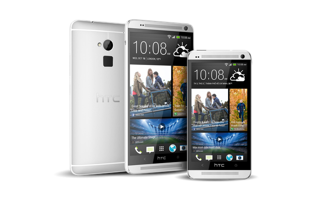 Con sot HTC One Max va HTC One M7 Dual SIM hinh anh