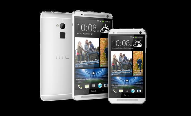 Con sot HTC One Max va HTC One M7 Dual SIM hinh anh 1