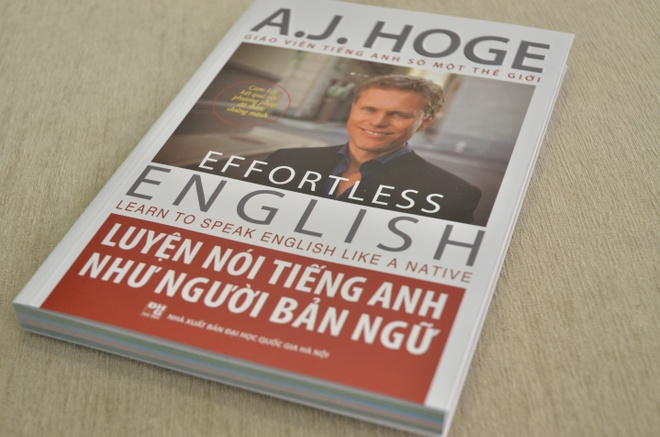 'Effortless English' ra mat phien ban sach hinh anh 1