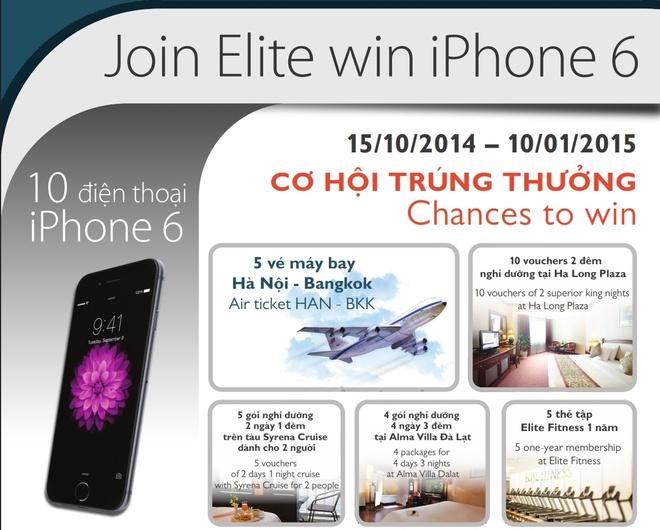 Tham gia Elite, trung ngay dien thoai iPhone 6 hinh anh