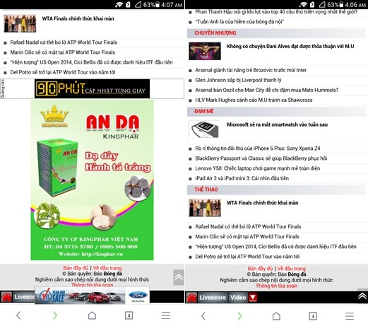UC Browser 10.0 - trai nghiem duyet web moi tren Android hinh anh 3
