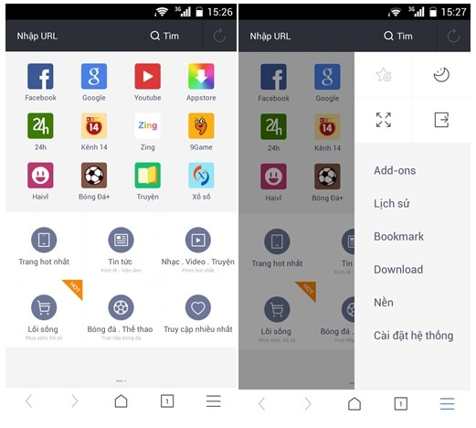 UC Browser 10.0 - trai nghiem duyet web moi tren Android hinh anh