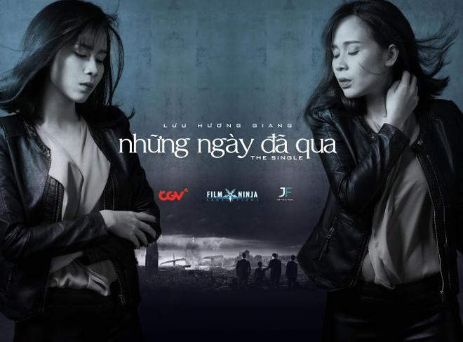 Luu Huong Giang tai ngo Cuong Seven trong MV vien tuong hinh anh