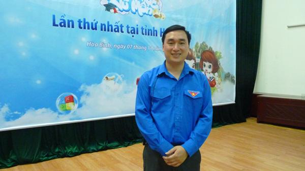 Mot ngay trai nghiem Chinh Phuc Vu Mon tai Hoa Binh hinh anh 3 Ông Đặng Mai Sơn - Phó Bí thư Tỉnh đoàn Hòa Bình.