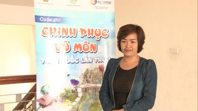 Mot ngay trai nghiem Chinh Phuc Vu Mon tai Hoa Binh hinh anh 4 Cô Nguyễn Phương Lan ủng hộ CPVM bởi cuộc thi có thể khơi gợi niềm đam mê học tập của học sinh.