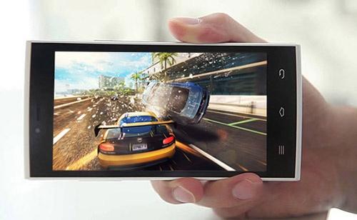 Evo X5 - smartphone danh cho game thu hinh anh
