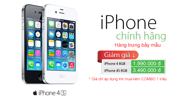 iPhone 4 8GB chi voi 1.990.000 dong hinh anh