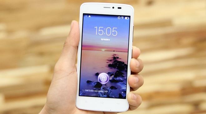 Nhung smartphone gia duoi 3 trieu phu hop voi nguoi dung tre hinh anh 3 Gionee V4S là một trong những sản phẩm nổi bật trong danh mục giá tốt của chương trình khuyến mại Tab xinh, dế xịn ở thời điểm này của thegioididong.com.