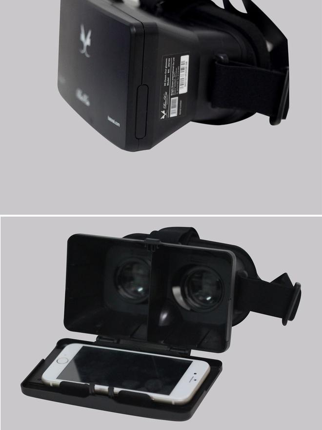 Xem phim 3D man hinh rong 200 inch bang dien thoai di dong hinh anh 3