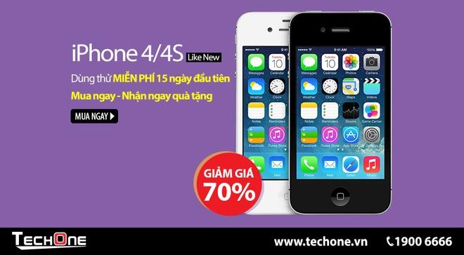 Mung Giang sinh - Techone giam gia iPhone, iPad 30% hinh anh