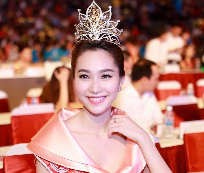 Dang Thu Thao ghi diem tai Chung ket Hoa hau Viet Nam hinh anh