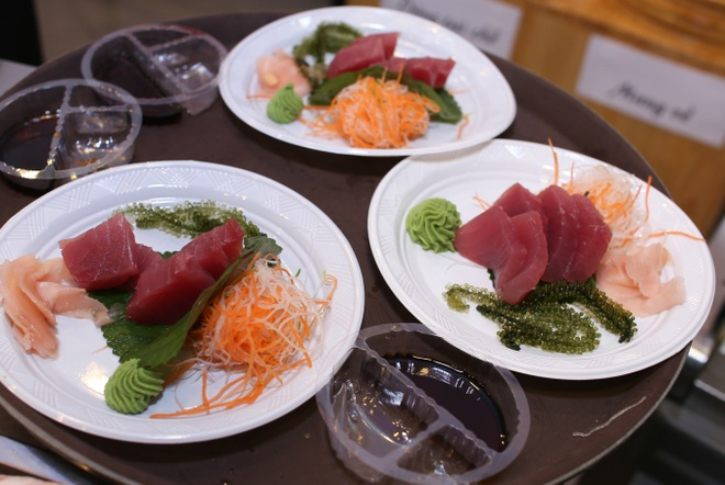 Shinsen Sushi: khong gian sang trong, gia ca phai chang hinh anh