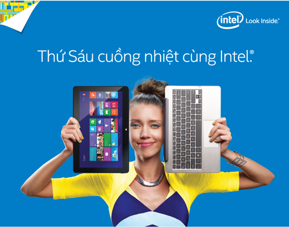 Tung bung trai nghiem cong nghe dip Giang sinh cung Intel hinh anh 1