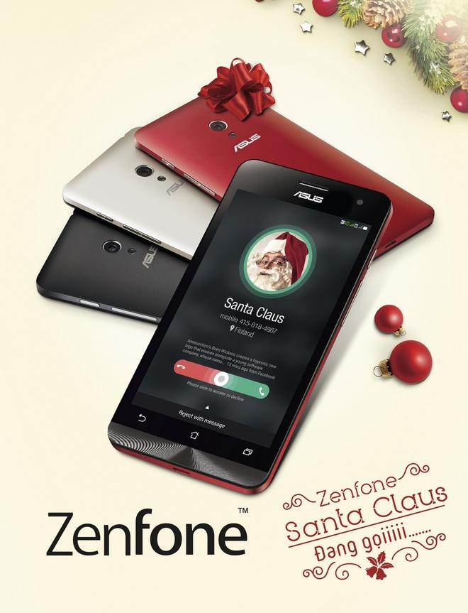 4 goi y qua cong nghe dip Giang sinh hinh anh 6 Với mức giá hấp dẫn, chỉ từ 2 triệu đến 5 triệu đồng , Zenfone mang tới nhiều lựa chọn màn hình từ 4 inch đến 6 inch cùng màu sắc vỏ máy phong phú là lựa chọn quà phù hợp cho nhiều người. Được trang bị 2 sim 2 sóng với thiết kế cao cấp, Zenfone vận hành hiệu quả với Android Kit Kat 4.4 cùng ZenUI thông minh và PixelMaster giúp chụp hình mọi tình huống tối ưu.