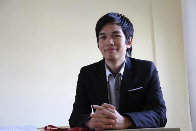 Hoc tieng Anh truc tuyen khien ban tre hao hung hon hinh anh 1 Chu Thành Đạt đã có sự tiến bộ đáng kể sau khi tham gia chương trình học tiếng Anh trực tuyến.