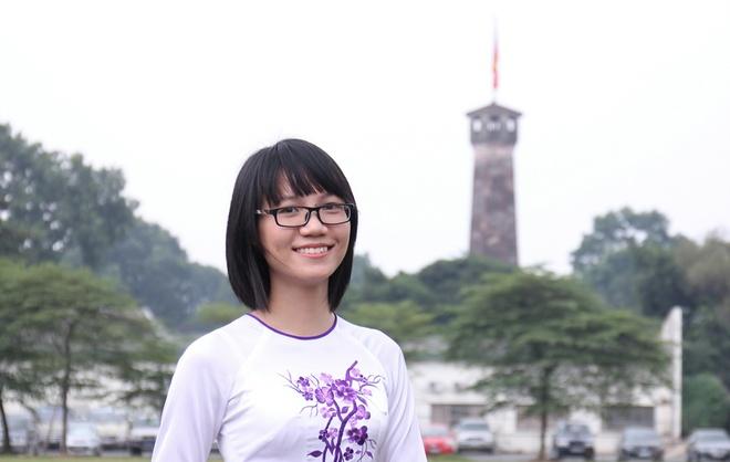 10 guong mat tre gop mat tai Giai thuong Khoa hoc VN 2014 hinh anh 7 Phạm Thị Minh Trang.